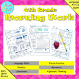 4th Grade Morning Work