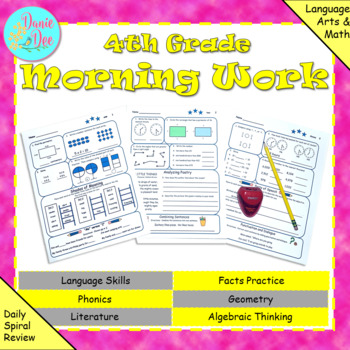 4th Grade Morning Work / Homework / Bell Work
