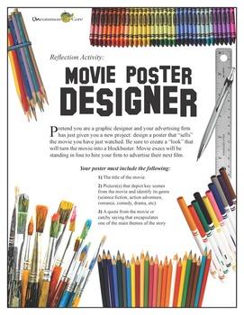 Common Core Movie Poster Activity