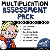 Multi-Digit Multiplication Assessment Pack