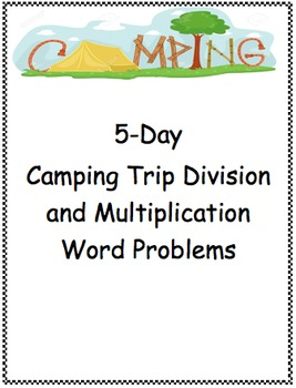 Common Core Multi-Step Division Word Problems