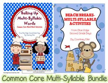 Common Core Multi-Syllable Bundle