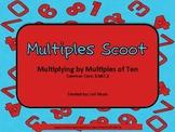 Common Core Multiples Scoot (3.NBT.3)