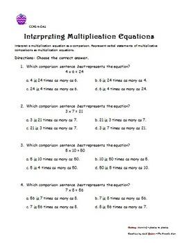 Common Core Multiplication
