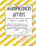 Multiplication Arrays Matching Game