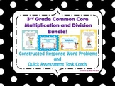 Common Core Multiplication & Division Word Problems & Task Cards Bundle!