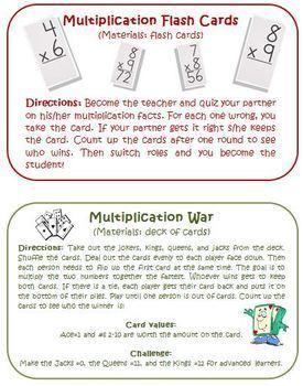Multiplication Intervention Bundle RtI