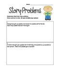 Common Core: Multiplication and Division Story Problems Wo