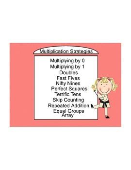 Common Core Multiplication and Division Strategies