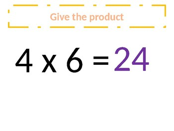 Common Core – Multiplication of 4s- Around the world