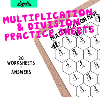 Common Core Multiplication packet