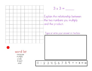 Common Core Multiplication with Arrays
