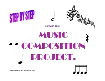 Common Core Music Composition Step by Step