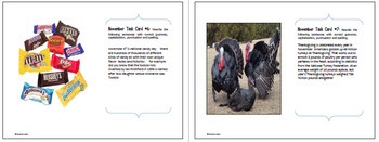 November Editing, Daily Writing Task Cards, Fun History Integration!