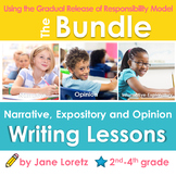 Common Core Narrative, Expository and Opinion Writing Lessons (Bundled)