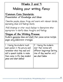 Common Core Narrative Writing- 1st Grade Writer's Workshop Launching Unit