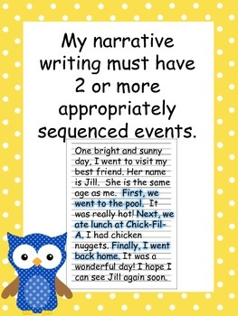 Common Core Narrative Writing Standards
