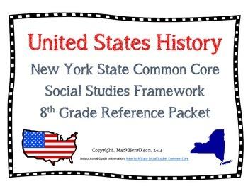 Common Core New York State Social Studies Framework; 8th grade