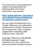 Common Core New York Times Interactive Map Worksheet