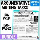 Common Core News Debate Essays: Differentiated Argumentative Writing Bundle