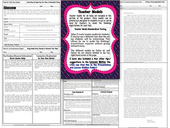 Common Core News Debates: Differentiated Argumentative Letters Bundle