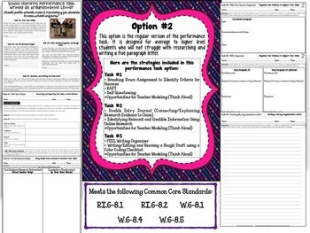 School Uniforms Debate: Real-World Argumentative Writing Performance Task
