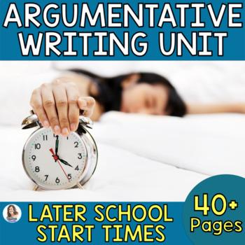 Should Schools Start Later?: Real-World Argumentative Writing Performance Task
