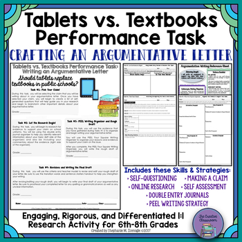 Tablets vs. Textbooks Debate: Differentiated Argumentative Writing Task