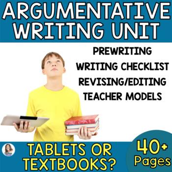 Tablets vs. Textbooks Debate: Differentiated Argumentative Writing Task