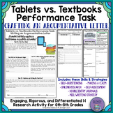 Tablets vs. Textbooks Debate: Differentiated Argumentative Writing
