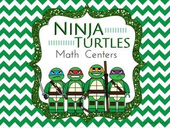 Common Core Ninja Turtle Math Centers