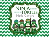 Common Core Ninja Turtle Math Centers