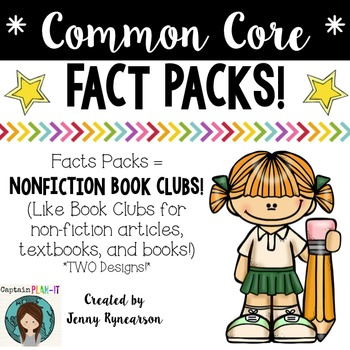 Common Core Non-Fiction Reading Clubs: Fact Packs!