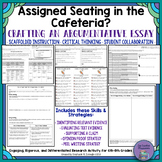 Common Core Non Fiction Debate Unit-Assigned Seating in the Cafeteria