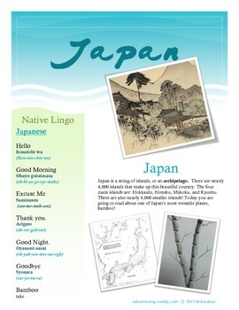 Common Core: Non-Fiction Reading, Culture and Art. Japanes