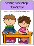 First Grade Nonfiction Writing