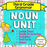 Noun Unit - Identify Nouns, Common & Proper, Singular & Plural, Possessive