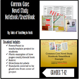 Common Core Novel Study Notebook/SmashBook