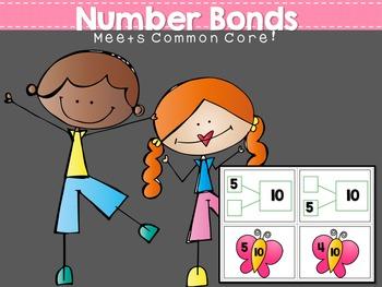 Common Core: Number Bonds