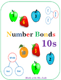 Common Core Number Bonds for 10s