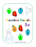 Common Core Number Bonds for 5s