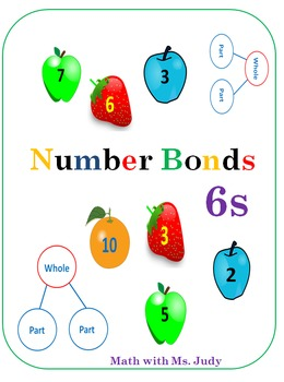 Common Core Number Bonds for 6s
