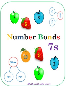 Common Core Number Bonds for 7s: