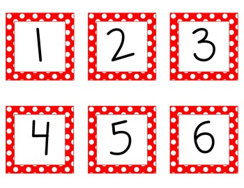 Common Core Number Cards 1-120