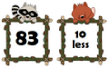 Common Core: Number Cards to 120, Forest Friends w/Activities