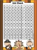 Common Core: Number Cards to 120, Giving Thanks w/Activities