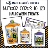 Number Sense: Number Cards to 120, Halloween Treats w/Activities