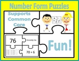 Common Core Number Form Puzzles