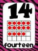 Common Core Number Posters: Full Size & Half Size {Bright Jungle Animal Theme}