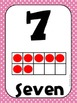 Common Core Number Posters: Full Size & Half Size {Bright Polka Dots}
